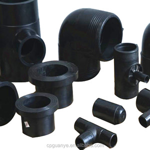 HDPE pipe fitting names and parts for water supply