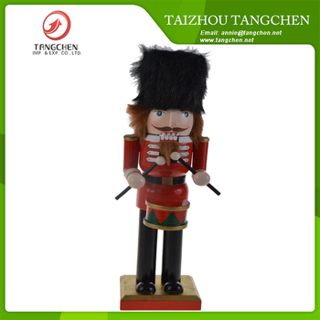 custom christmas item handmade wooden christmas craft on the shelf toy soldier walnut nutcracker christmas decorations - Toy Soldier Christmas Decoration