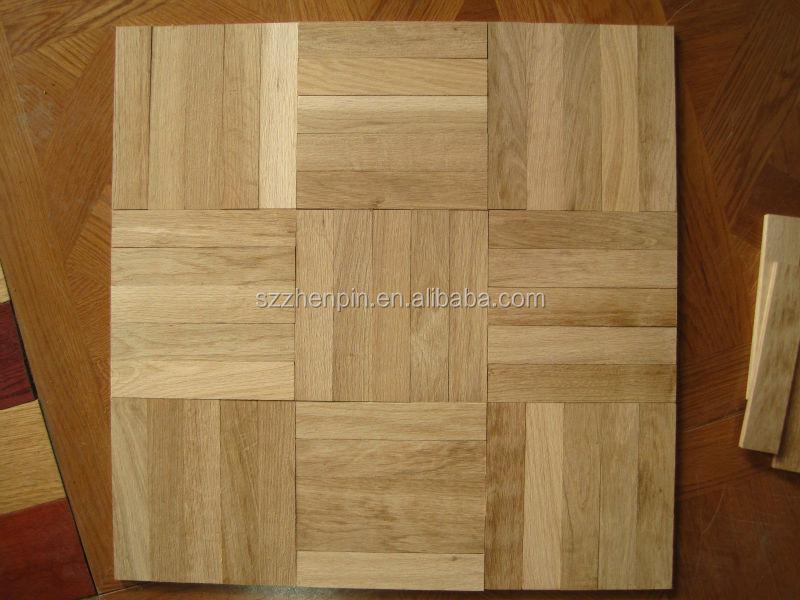 Mosaic parquet 5 finger parquet flooring five finger wood for Wood floor knocking block