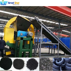 small business waste tire shredding machine for recycled tire