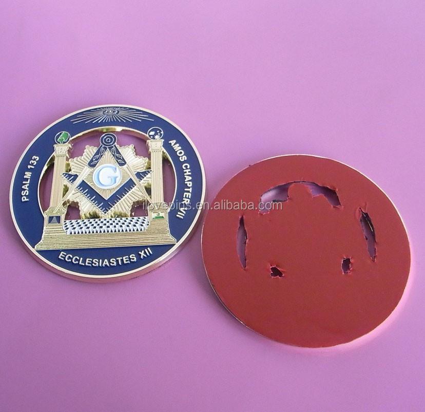 cheap custom design enamel epoxy brass metal souvenir masonic poppy lapel  pin badge with butterfly clutch
