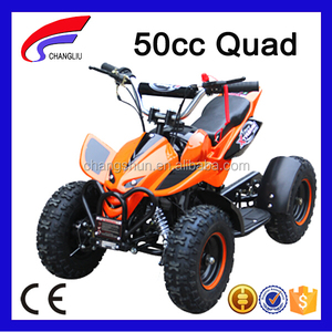 Hot Selling 50cc quad with blue camo color for boys