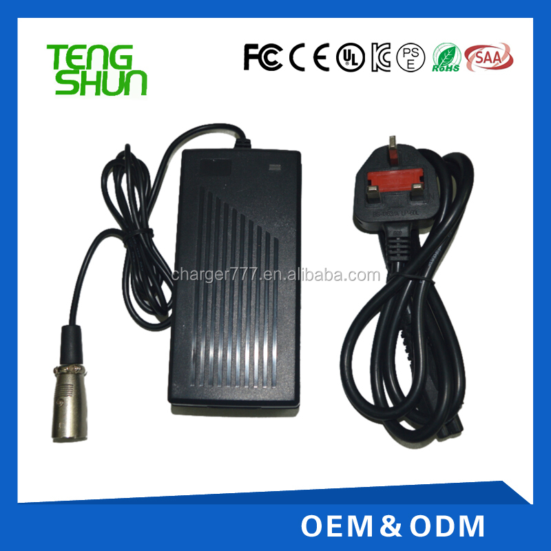 Lead Acid Rechargeable Battery Charger 12.6V 16.8V 3A 4A