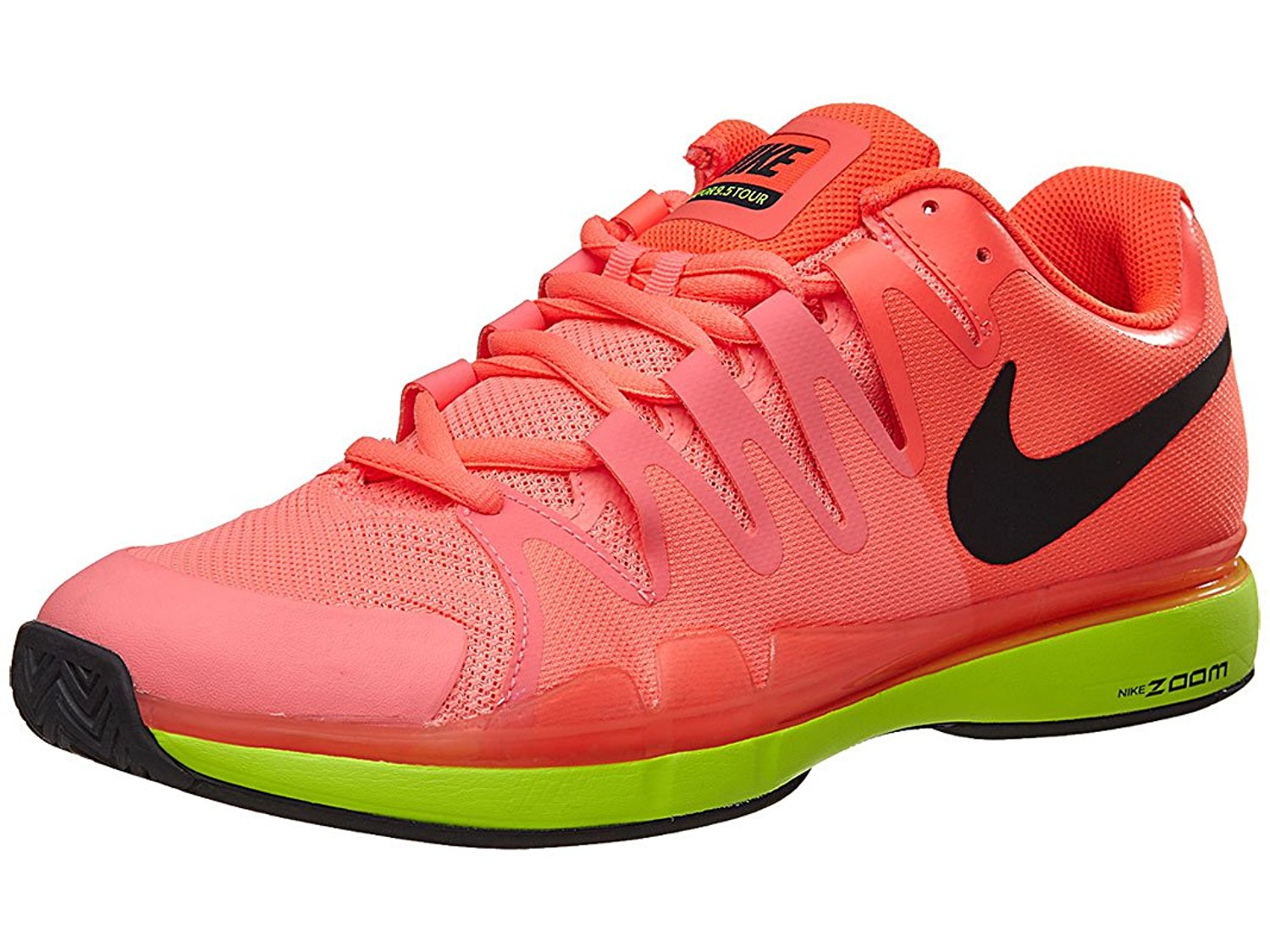 2af7fc9b4f42 Buy Nike Zoom Vapor 9.5 Tour Hyper Orange Black Volt Womens Tennis ...