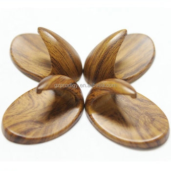 Strong Adhesive Decorative Removable Wood Stick Wall Hook