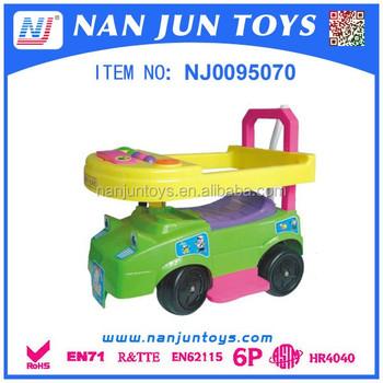 2016 baby walker push car kids ride on push car slide car for kids