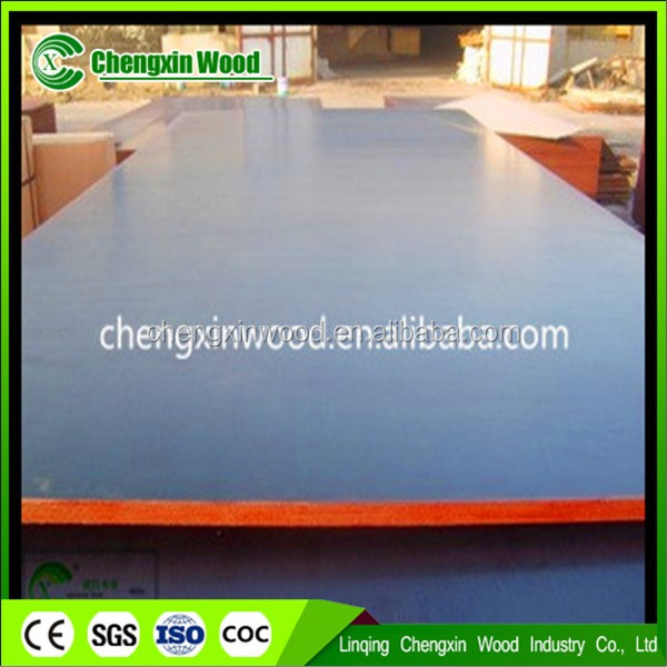 1220*2440*18mm film faced construction Joint core Melamine green poplar film faced plywood