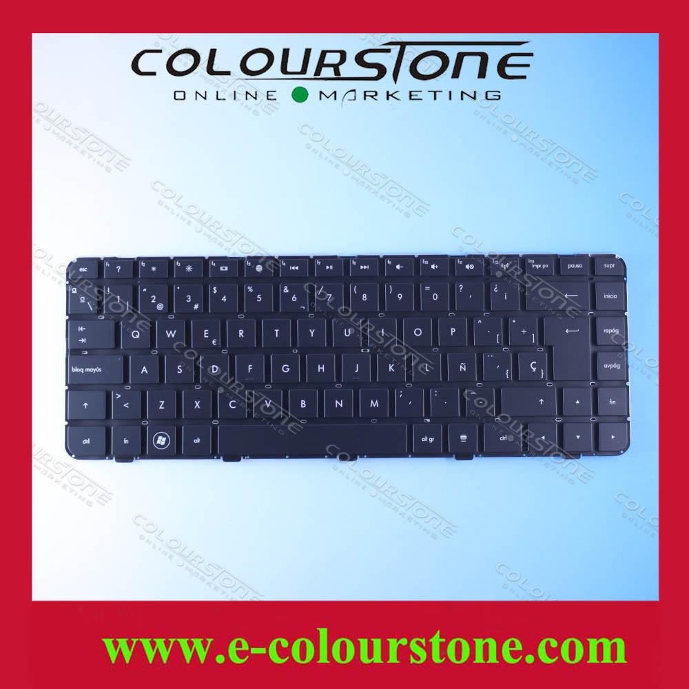 Marca nuevo cuadro español teclado del ordenador portátil para hp ...