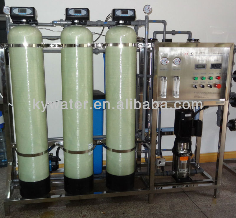 500lts/hr with an Antiscalant dosing Pump, Carbon Filter and water softener