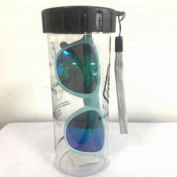 Sunglasses Plastic Hard Cup Box Package Plastic Eyeglasses Case
