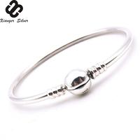 3mm 925 Sterling Silver Charm Bracelet Wholesales