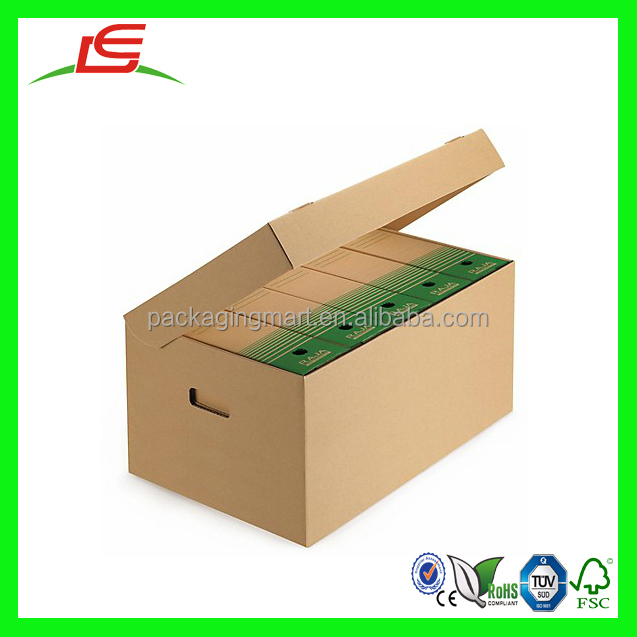 N918 Cardboard Foldable Storage Box, Recycle Cardboard Archive Boxes, Hot  New Ideal For Long