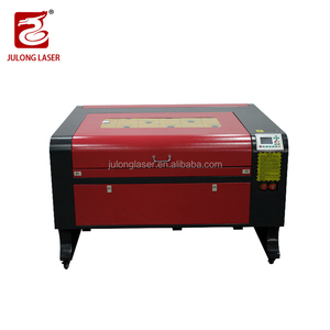 1080 liaocheng julong Co2 wood acrylic plywood leather laser engraving machine