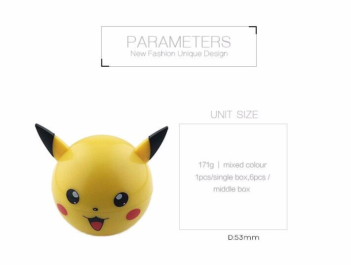 pikachu 2018 new products 2.5 Inch Concave Surface 4 inch herb grinder for Christmas gift