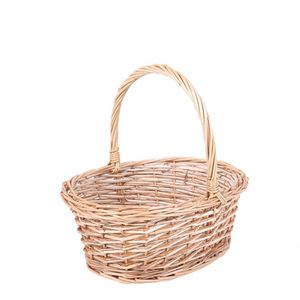 Wholesale Empty Fruit Handle Empty Gift Basket