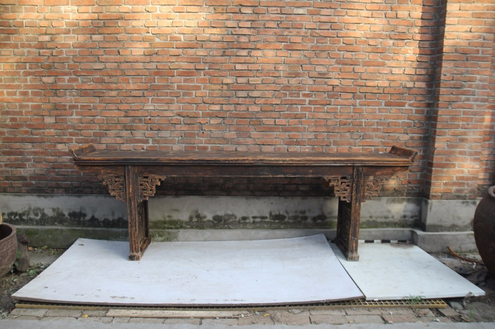 2 m chino antiguo altar, altar China proveedor.