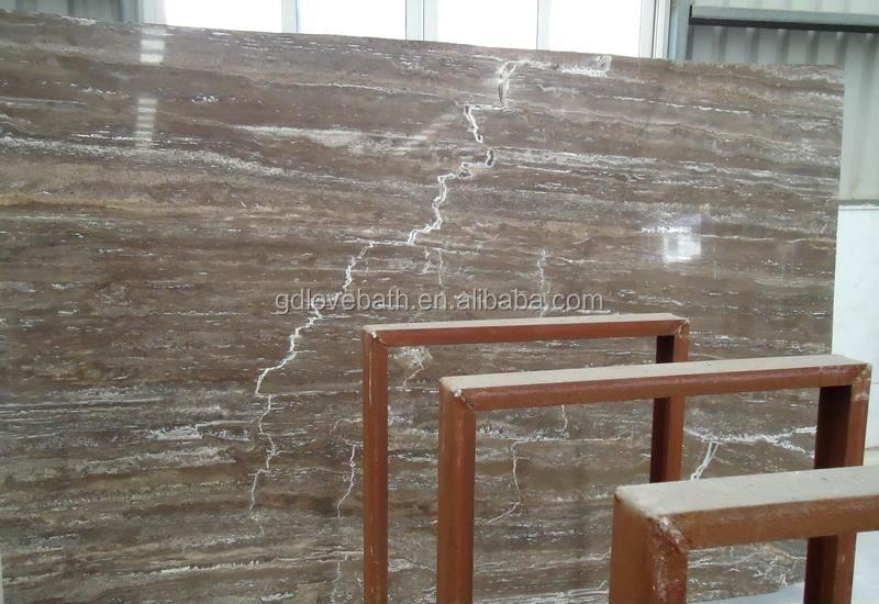 Piastrelle di marmo italiano grigio argento mattonelle di marmo