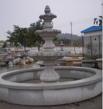 Natural Stone Garden Outdoor Water Fountain,Granite Stone Water Fountain