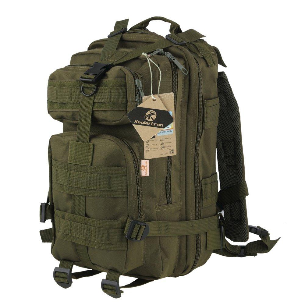 d82c2d47b7c5 Get Quotations · Koolertron Outdoor Military Rucksack Tactical Backpack Bag  Desert Camouflage Sports Travelling Hiking Bag