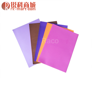 Colorful soft rubber foamiran EVA foam sheet for DIY