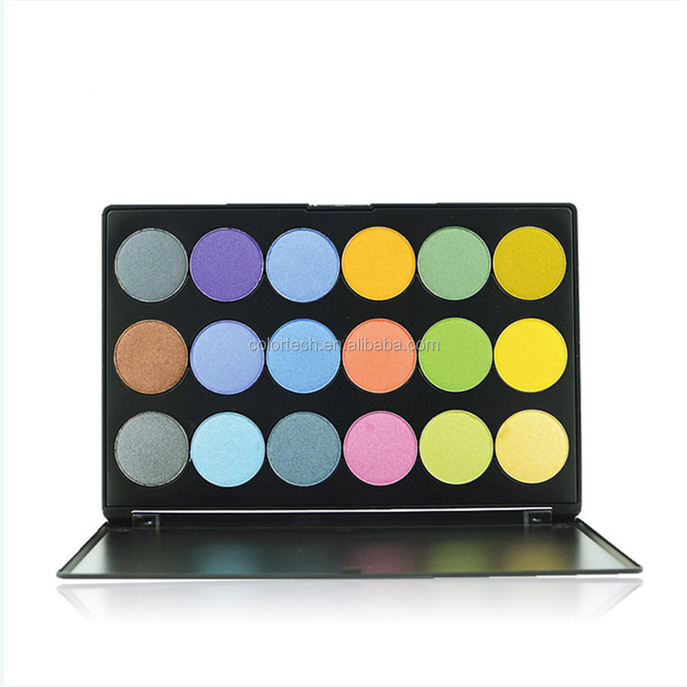 2018 hot Sale! Eyeshadow Palette 18 colors Professional Cosmetic 18 Color Multicolor Eye Shadow Palette