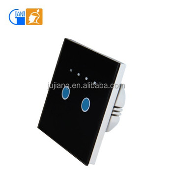 Intelligent 1 Gang 2 Way Soft Touch Screen Led Dimmer Light Wall Switch 240v