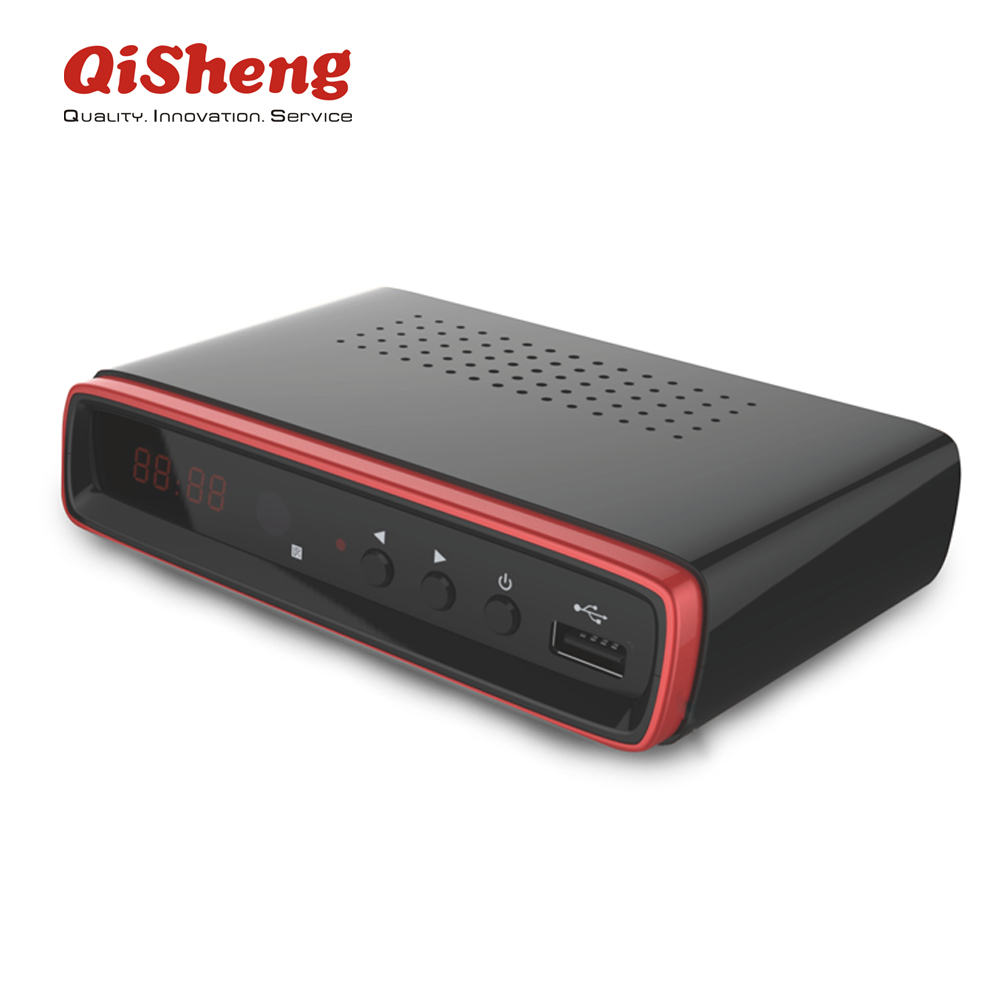 Qisheng libre T2 1080 p Full HD receptor de tv Vietnam DVB-T2/dvbt2 set top box
