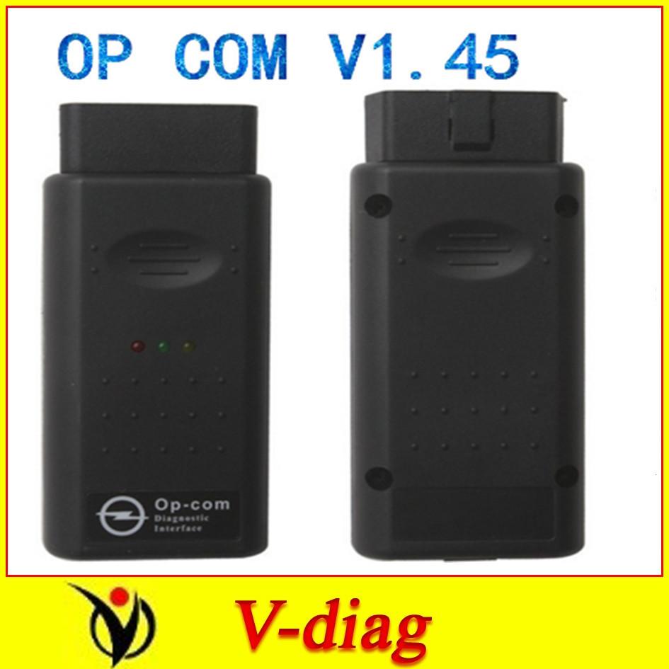 V1.59 с PIC18F458 чип вновь OBD2 op-com Com / Op Com / Opcom / для opel сканирования инструмент рабочий на xp только