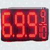12 inch large 7 segment led display big seven segment led number display