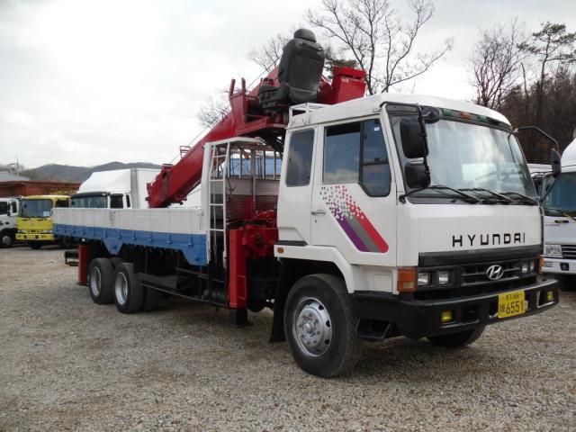 Hyundai Truck Crane 9.5 Ton / Cs 707