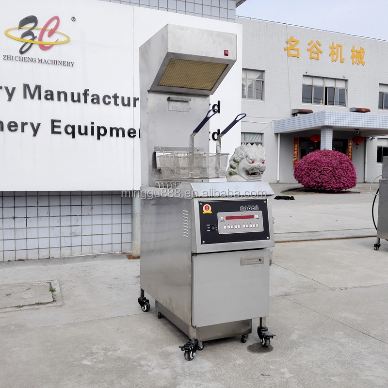 2016 New! Kfc Chicken Frying Machine Pressure Fryer Gas Broast Machine with Range hood