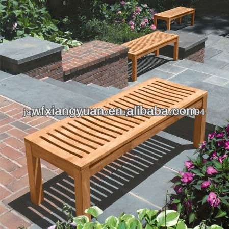 wood and plastic composite wpc bench