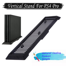 Para PS4 Pro Console Stand Magia Suporte Vertical para Sony Playstation 4 Pro Game Console Game Acessórios