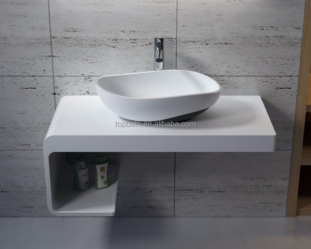 Hot Selling 3D vision artificial stone countertop sink A101