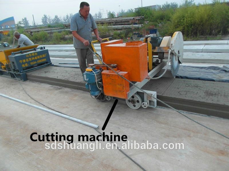 Concrete Extrusion Machine : Precast concrete lintel extrusion machine