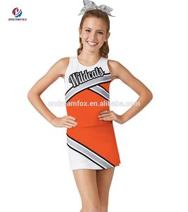 Comfortable Lycra Compression Cheer Bras and Shorts,Sexy Girl cheerleading uniform, Cheap Girls cheerleading practice wear