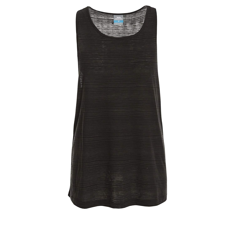Trespass Womens/Ladies Kaylee Sleeveless Vest Top (XXL) (Black)