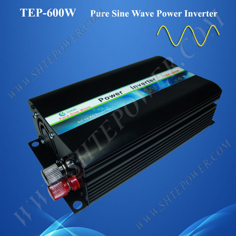 Beautiful design pure sine wave 600w dc 12 volt power inverters ac 100v