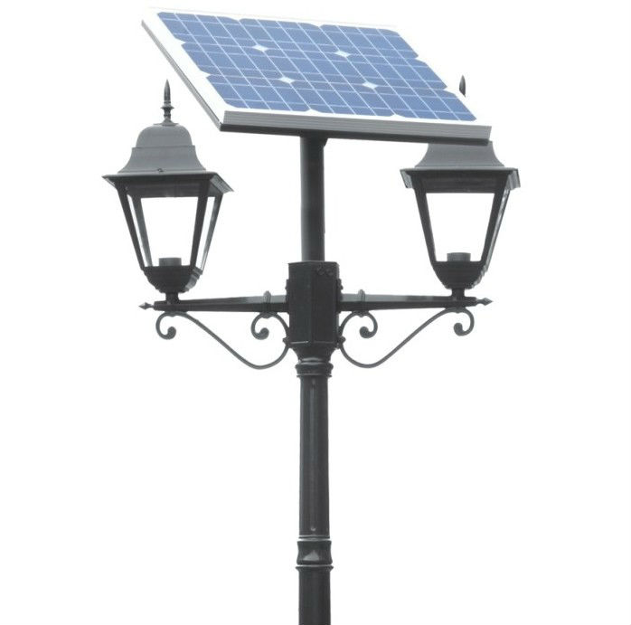 ND-T42-30 IP65 LED solar lawn lamp,garden lighting pole light,garden lighting
