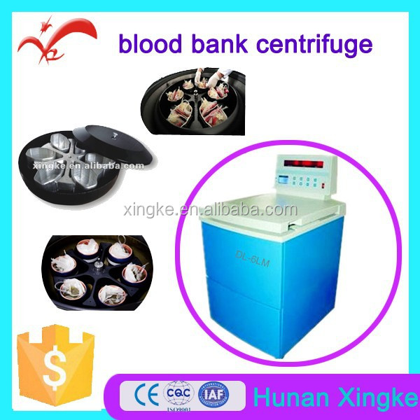 veterinary injection blood banking centerfuge for plasma separat