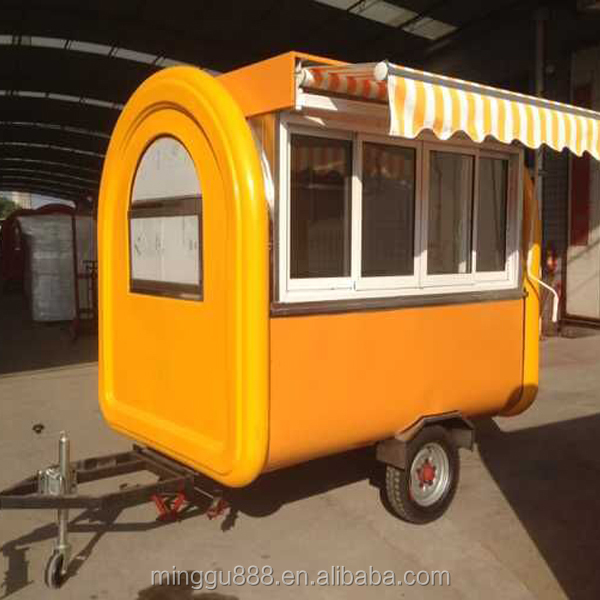 ON SALE! Food catering trucks, pizza vending cart/kiosk,mobile food cart China supply