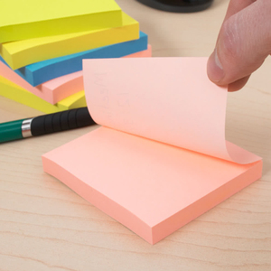 Office Custom Logo Online Cheap Mini Colorful Paper Sticky Note