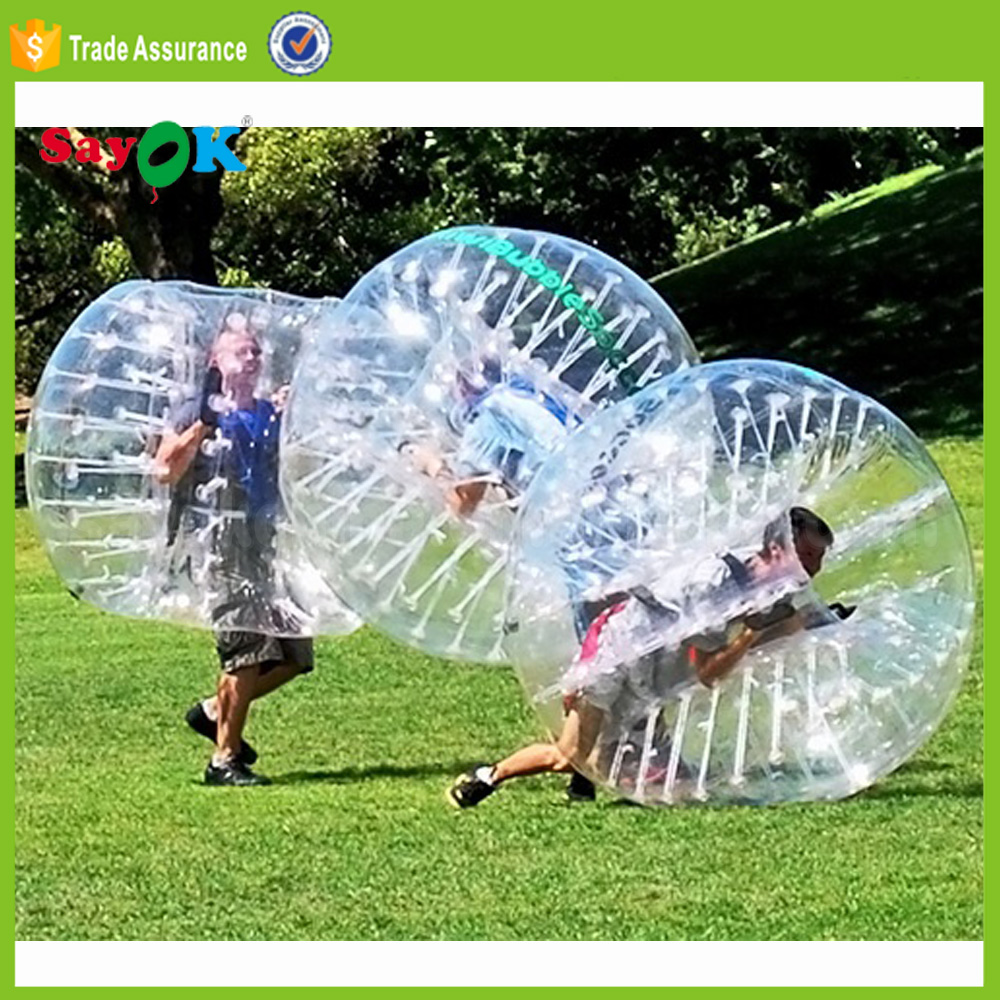 China factory inflatable body bumper ball, inflatable bubble ball suit for sale