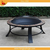 excellent quality stone table firepit