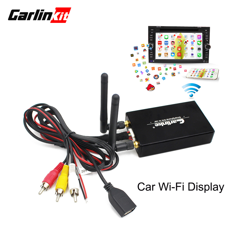 Carlinkit Spiegel link Box auto media miracast Airplay DLNA display draadloze wifi spiegel link voor auto TV