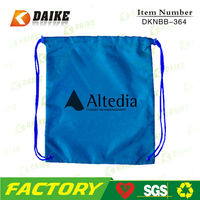 Custom Cheap Recycled Nylon Draw String Bags Small