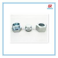 NPT threaded stainless steel hex head pipe plug