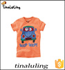 2015 new fashion baby tops children t-shirts with cartoon print t shirt wholesale cheap