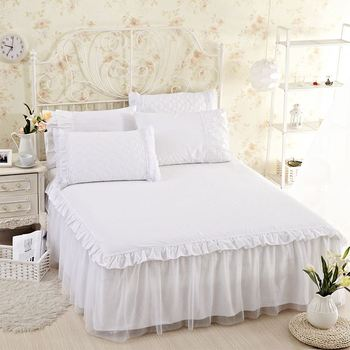 unikea 5pieces 100 cotton bed sheet set korean bed sheets with elastic luury