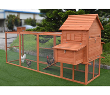 Wooden Chicken coop Rabbit cage Hen house with laying box factory